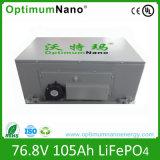 Bateria da bateria de lítio 76.8V 105ah EV com BMS