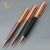 Crayon lecteur à extrémité élevé d'encre de crayon lecteur de bille de torsion en métal de type neuf