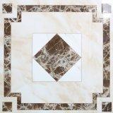 Voll polierte glasig-glänzende Marmorsteinfußboden-Fliesen mit verschiedenen Oberflächen
