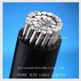 Pvc van de Leider van het aluminium/XLPE Geïsoleerdee Kabel voor de LuchtLijn van de Transmissie
