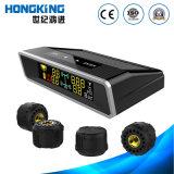 Farbe LCD-Bildschirmanzeige-Reifen-Druck-Monitor-Selbstzusatzgerät, Sonnenenergie