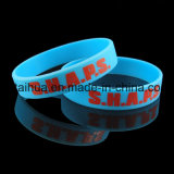 Wristband ajustável relativo à promoção do silicone com Thb-018