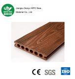 カスタマイズ可能な木製の穀物の円形の穴WPCのDecking