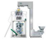 Machine à emballer verticale de biscuit de casse-croûte automatique de pain