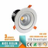 50W MAZORCA ahuecada poder más elevado LED Downlight con la garantía 5-Years