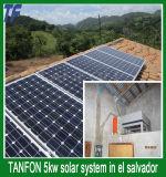 가정 태양 에너지 시스템 5kw 태양 모듈 시스템