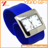 Reloj personalizado del silicón de la manera de la alta calidad (YB-HR-81)