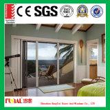 Алюминиевая дверь слайдеров для балкона