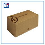 Caja electrónica personalizada con Kraft y cartón
