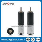 3.0V pequeño motor inferior del engranaje del reductor de la revolución por minuto 10m m para la impresora