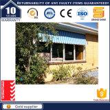Ventana horizontal de la ventana de China de la empresa del marco del bloqueo de aluminio hermoso del empuje