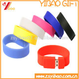 Promocional Wristband USB Flash Drive, Bracelet Bulk 1GB USB Flash