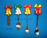 De Decoratieve Kaas van Kerstmis/Botermesje met het Handvat van de Hars