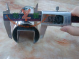Pêche à la traîne avec 304, tube encoché rond de l'acier inoxydable 316