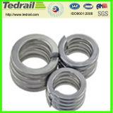 Rondelle plate en aluminium de boucle fabriquée en Chine
