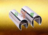 Accesorios de acero inoxidable con tubo ranurado