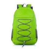 Packsack dobrado de nylon impermeável do saco de viagem do projeto novo portátil