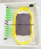 Rectángulo de distribución óptico de fibra de Kwmsb-D/C con la arca China del Sc 24ports de la puerta