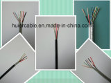 Câble d'appareil-photo de la télévision en circuit fermé Cat5e pour l'appareil-photo d'IP/HD/Ahd (4 paires)