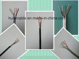 Câble visuel de la télévision en circuit fermé Cat5e pour l'appareil-photo d'IP/Ahd (2 paires)