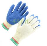 Baumwolshell-Nitril beschichtete Sicherheits-Arbeits-Handschuh-industrielle Handschuhe 2017