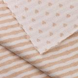Coton organique organique de tissu de coton de 100% avec la conformité d'Oeko