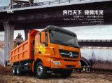 De Vrachtwagen van de Stortplaats van Benz van het Noorden van Ben van Bei 8X4