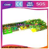 Запатентованная крытая спортивная площадка конструкции для детей