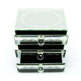 중국제 도매 미러 결혼 선물 Hx-7238를 위한 유리제 보석함