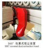 Precintadora automática de borde con el recorte de la esquina sin la función pre que muele