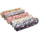 Sac frais /Hot du crayon 2016 vendant la trousse d'écolier de filles/sacs floraux assortis de produit de beauté de poche de crayon de papeterie de support de crayon lecteur de toile de fleur