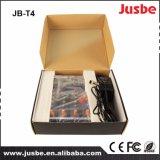 Jusbe Jb-T4 Misturador de console de mistura de áudio profissional de 4 canais com música USB MP3 DJ Play Preço barato