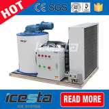 Охлаждение на воздухе 1000kg/Day сушит и очищает машину льда хлопь
