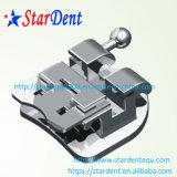 Uno mismo ortodóntico dental que liga los corchetes del metal con el Ce FDA