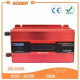 Invertitore di energia solare di Suoer 1500W 12V 220V (SDB-D1500A)