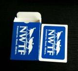 Cartões de jogo azuis do papel de Nwft/cartões jogo do póquer com 4 cores diferentes