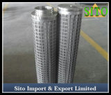 De Filter van de Olie van het Water van de Cilinder van het Netwerk van de Draad van het roestvrij staal