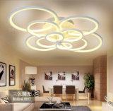 원격 제어 거실 침실 현대 아크릴 LED 천장 빛