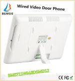 """7 """"Teléfono video de la puerta de RFID con el sistema del intercomunicador Cámara de la campana 2 Monitor Cerradura eléctrica"""