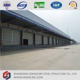 Entrepôt logistique de bâti préfabriqué en métal
