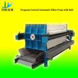 Máquina de imprensa de filtro de correia de desidratação de lodo feita na China