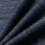100% schwarzes Tencel Denim-Gewebe für Cowboy-Hemden