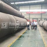 Печь 2017 низкого облечения Yuhong роторная для твердых отходов