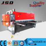 Máquina de corte de QC11k para a placa de aço