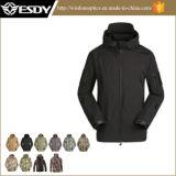 Куртка Hoodie водоустойчивая Softshell военных напольная охотясь