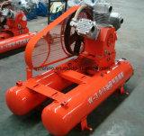 Kaishan 22HP W-3/5를 모는 잭 망치를 위한 움직일 수 있는 광업 공기 압축기