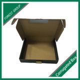 Boîte en carton noire empaquetant avec la vente en gros de laminage de Matt