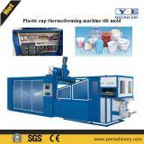 Machine en plastique de Thermoforming de conteneur de fruit avec l'empilement