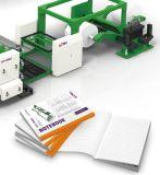 Cuaderno completamente automático industrial perfecto del papel de libro de ejercicio que hace libro frío del pegamento precio de la máquina obligatoria