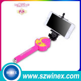 Ручка Monopod беспроволочная Selfie всеобщей роскошной радуги миниая для Android Ios